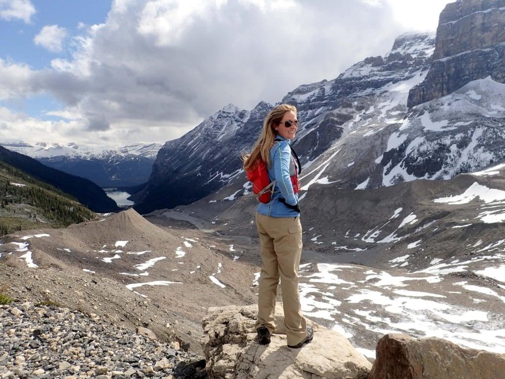hiking banff lake louise