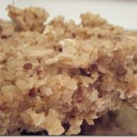 cranberry quinoa bars