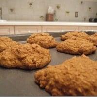 Pumpkin Cranberry Muffin Tops