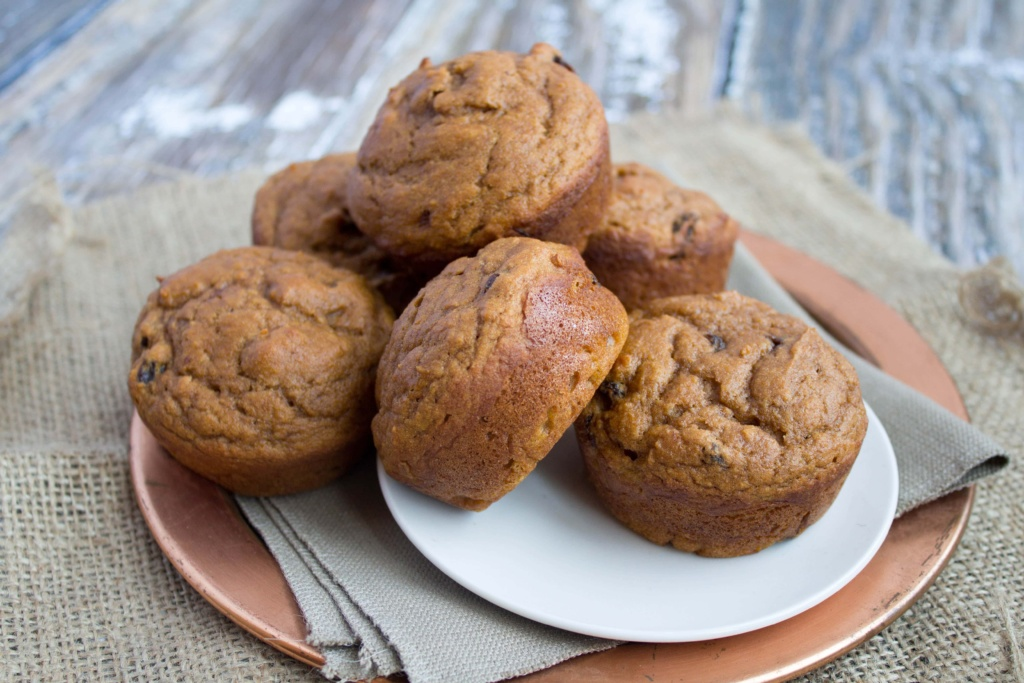 how to make pumpkin muffins healthy