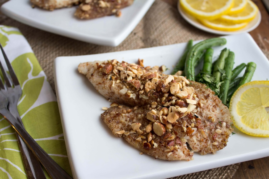 almond crusted tilapia recipe