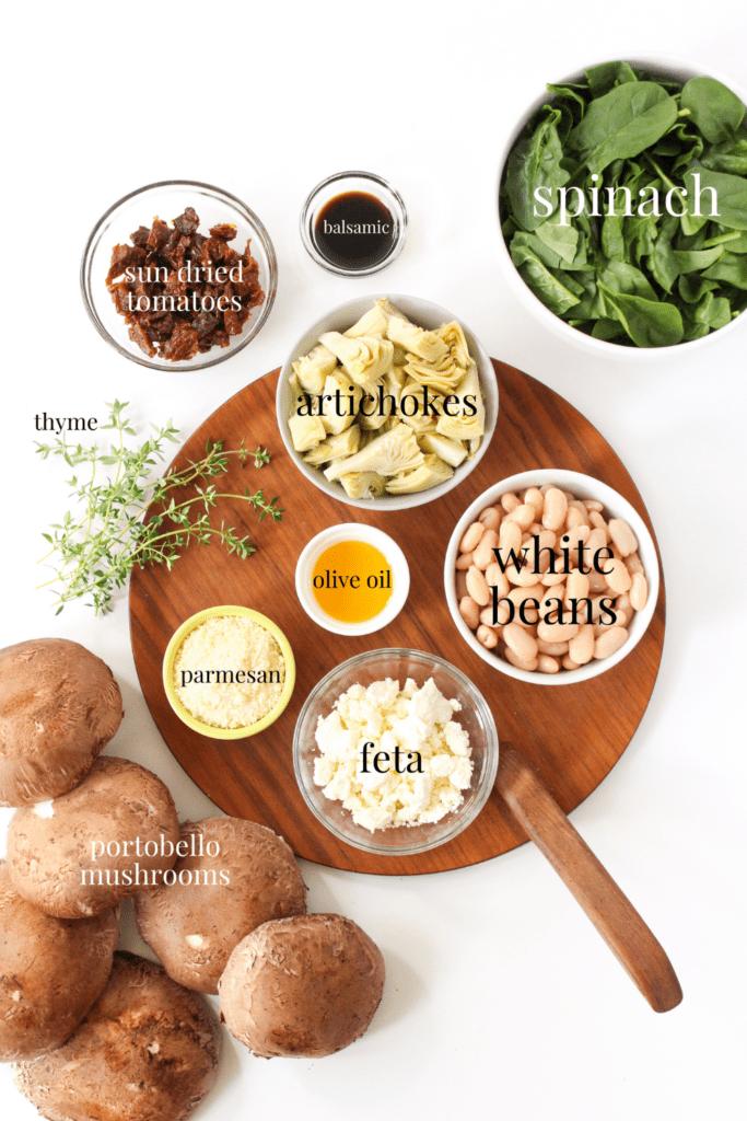 baked portobello mushroom ingredients