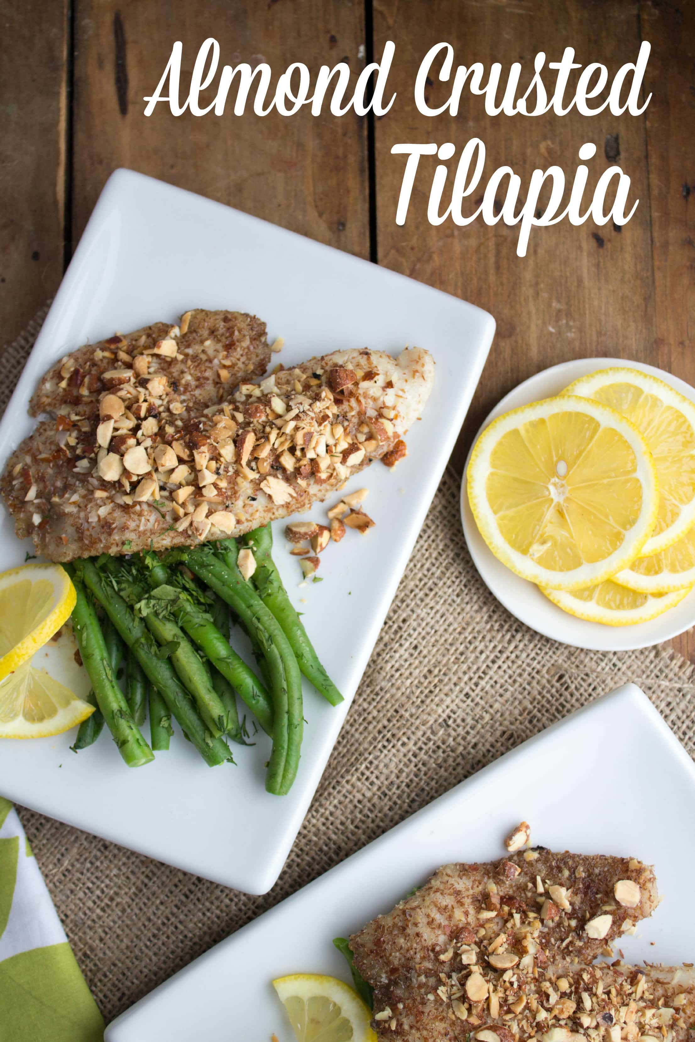 almond crusted tilapia recipe  quick  easy meals