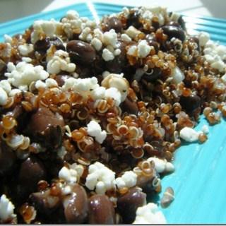 Black Bean, Feta & Quinoa Mess