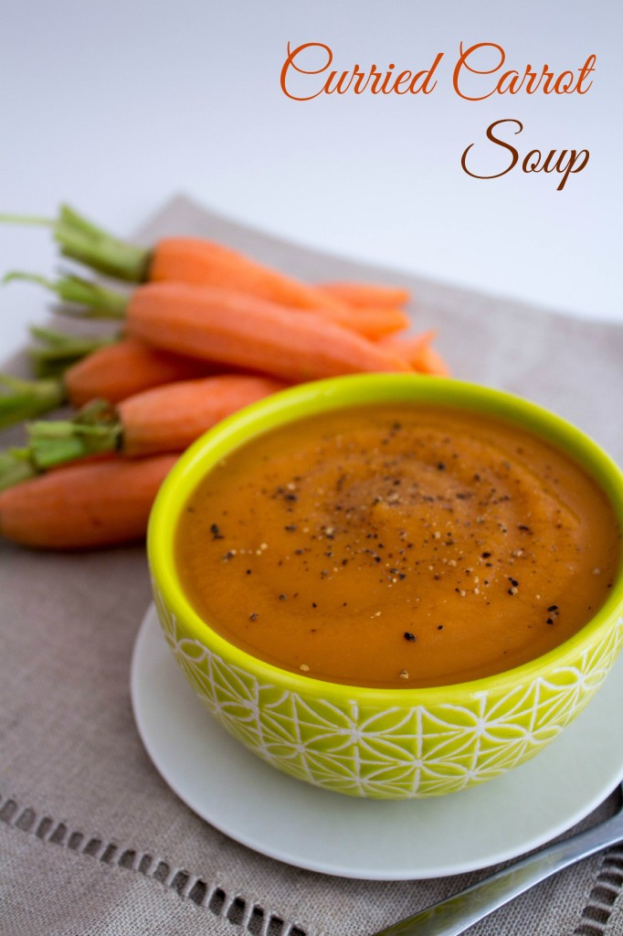 curried carrot soupp