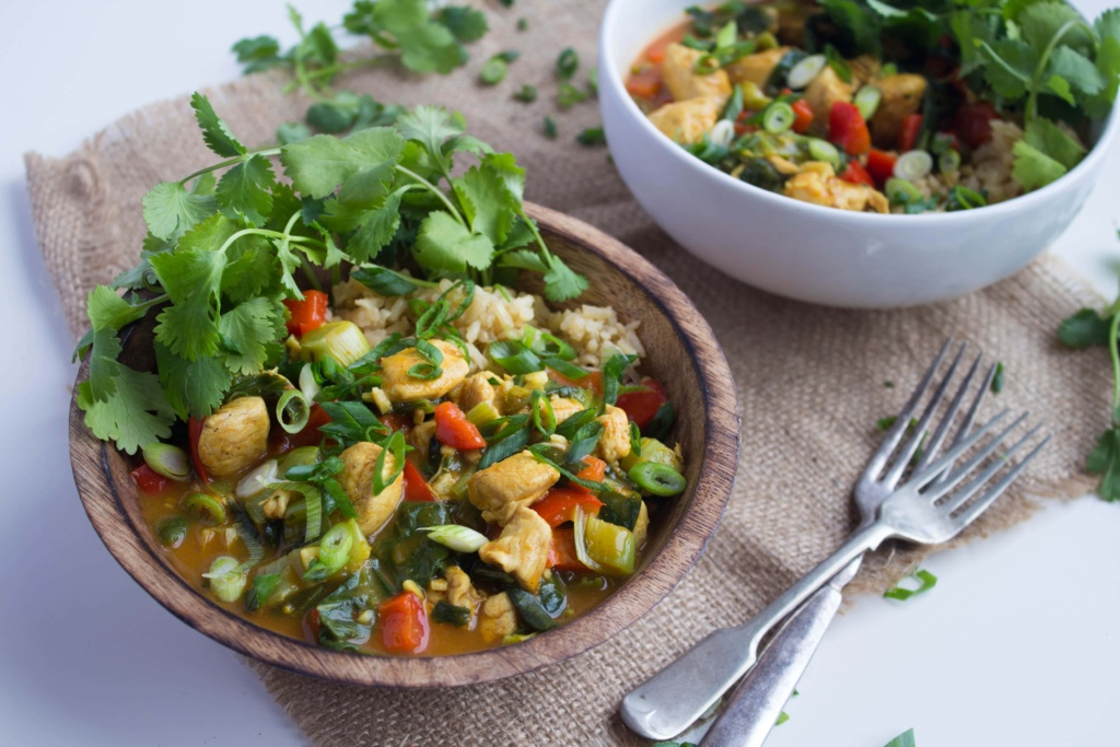 easy coconut curry recipe