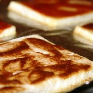 Almond Soy Sauce Baked Tofu