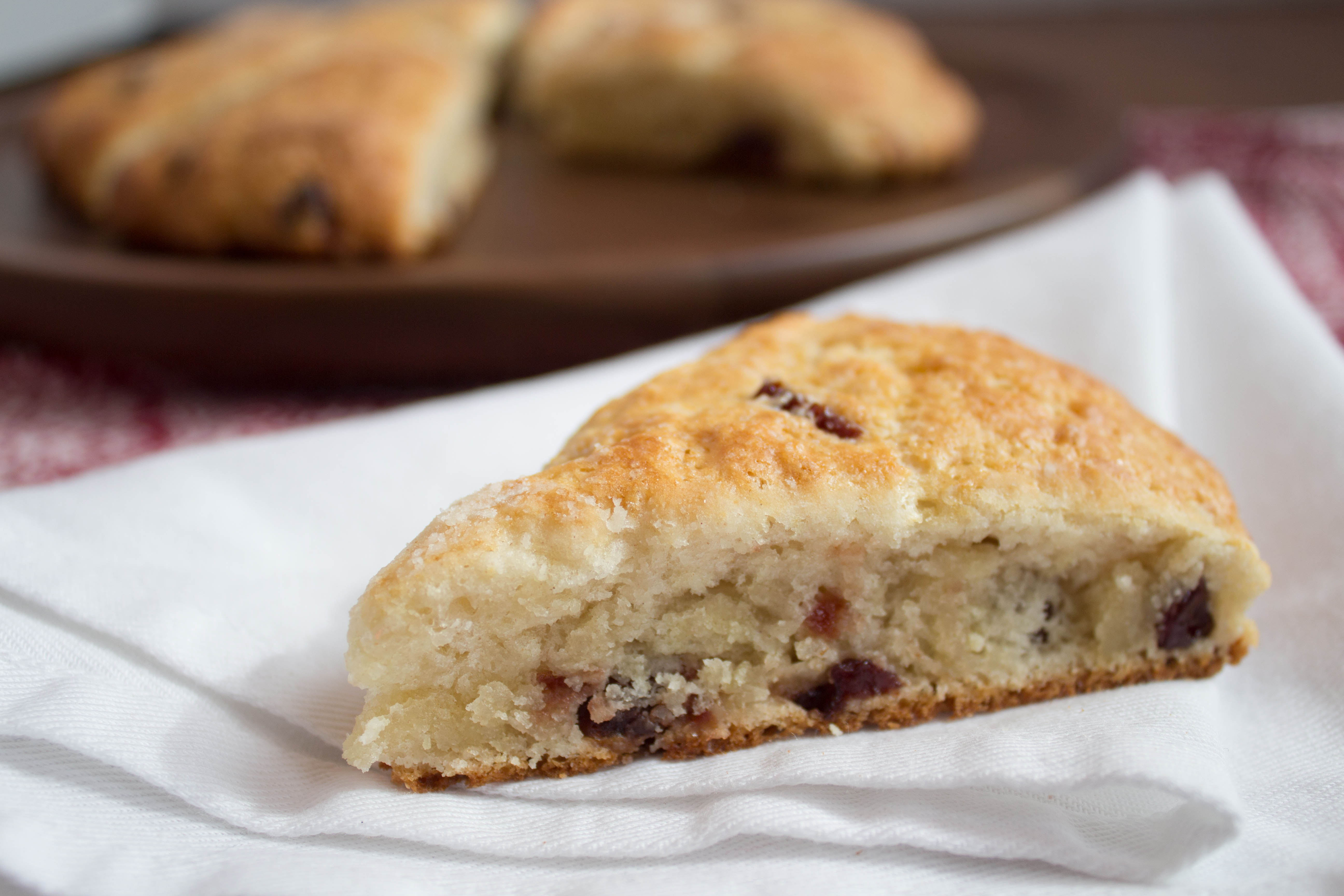 Cranberry Yogurt Scones | Easy Recipe