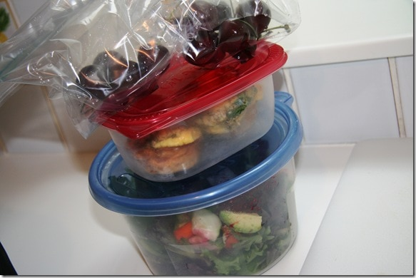 quick and easy packed lunch