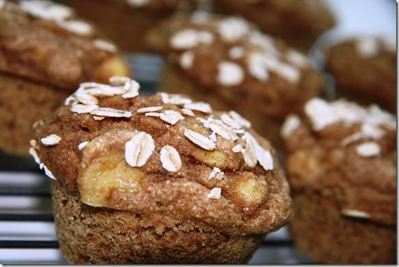 Banana Spelt Muffins - fANNEtastic food