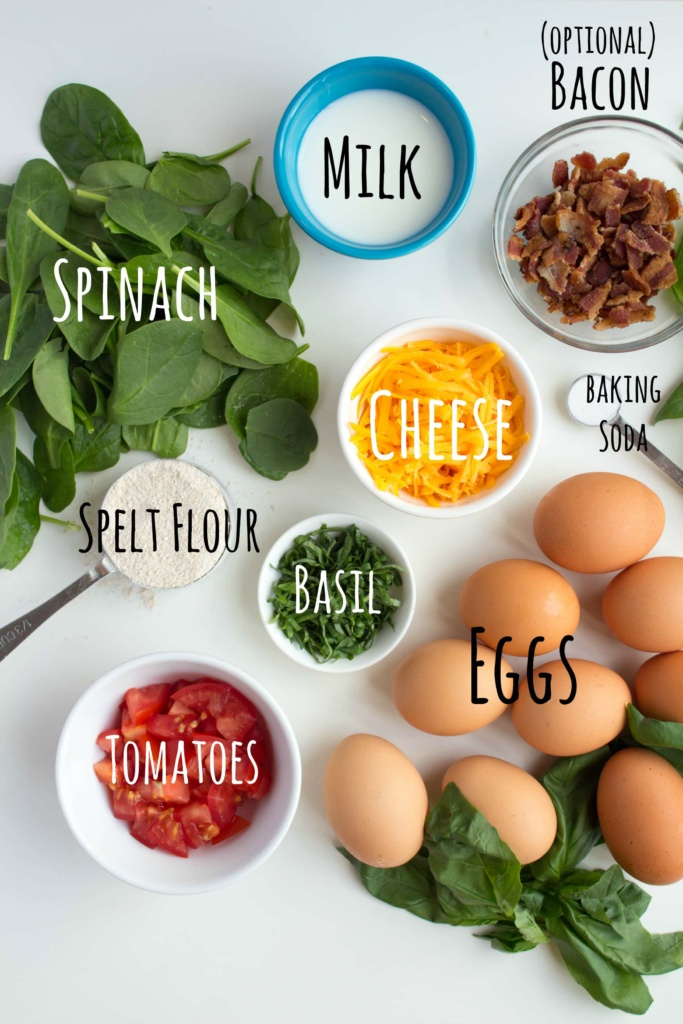 scrambled egg muffin ingredients