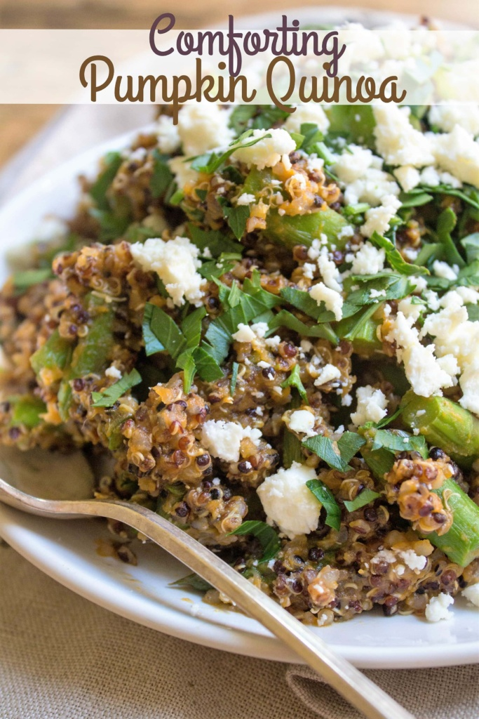 comforting pumpkin quinoa recipe