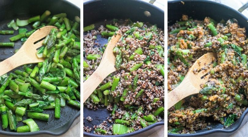 how to make pumpkin quinoa