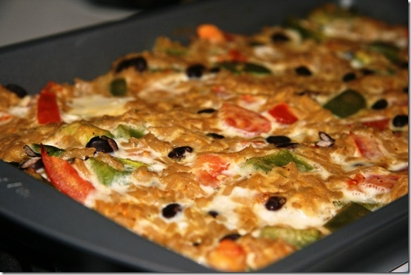 Mexican Brown Rice Casserole - fANNEtastic food | Registered Dietitian ...