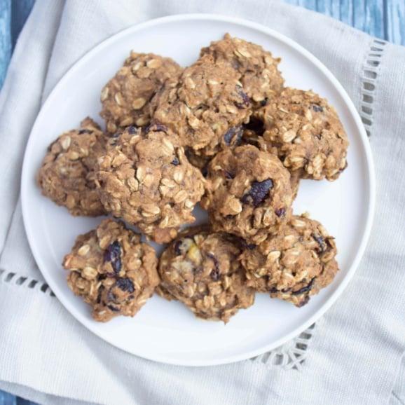 oatmeal banana pumpkin cookies