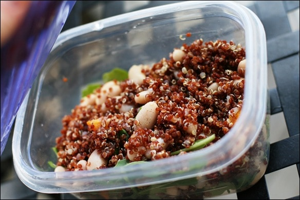 Kumquat Quinoa Salad with Beans