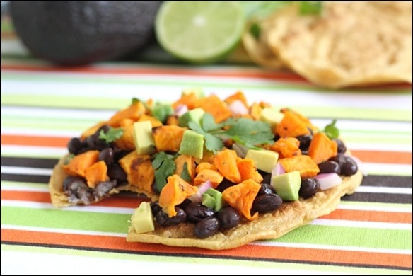 black-bean-tostada