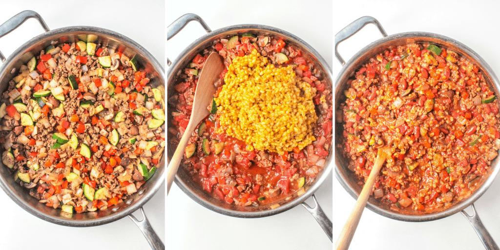 how to make Turkey, Veggie, & Barley Chili