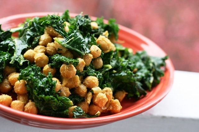 Cheesy vegan coconut sauted chickpeas and kale fannetastic food 027 forumfinder Images