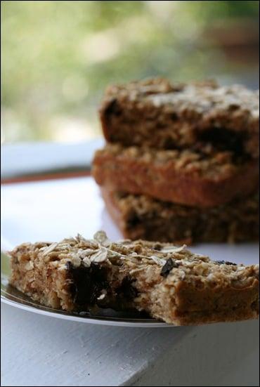 Oatmeal Dark Chocolate Granola Bars Recipe