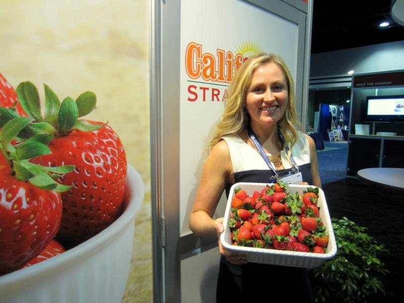 CA strawberries