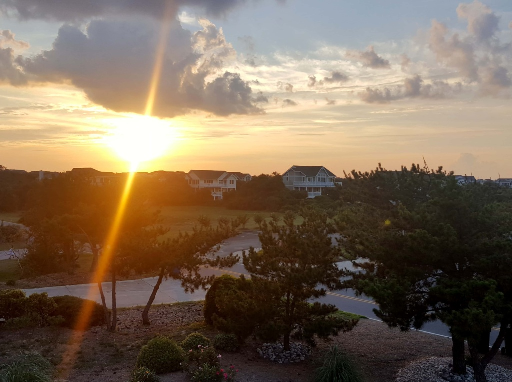 duck outer banks sunset