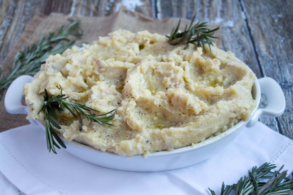 healthy mashed potato recipe