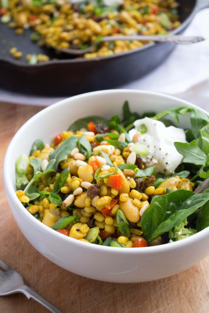 barley salad recipe pine nuts
