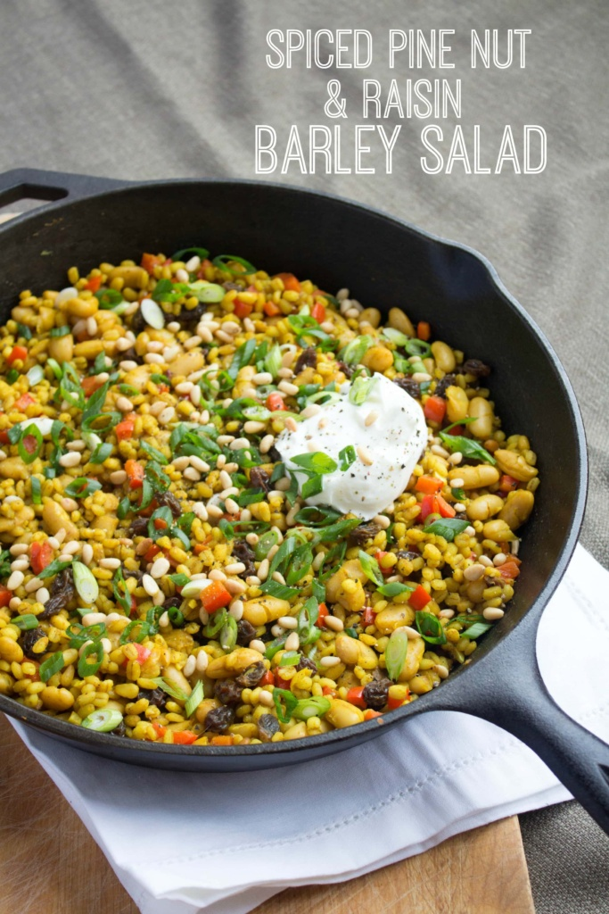 easy barley salad recipe