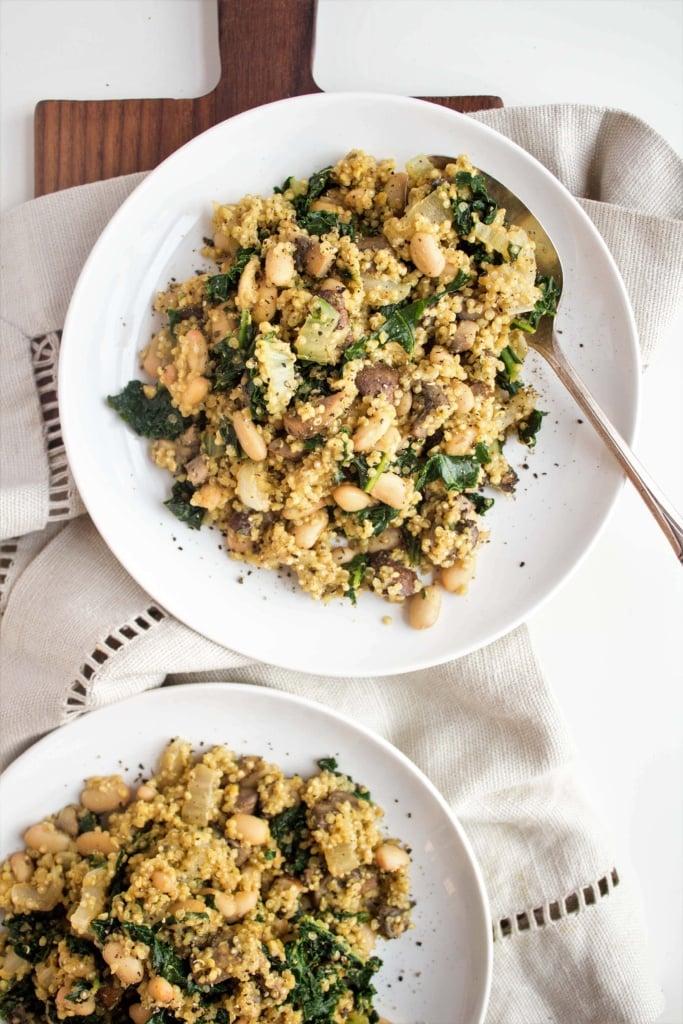 Vegan Mushroom Quinoa recipe