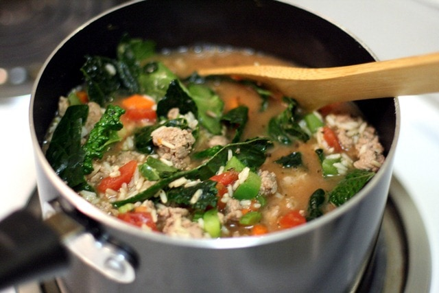 Chunky Turkey & Vegetable Soup Recipe