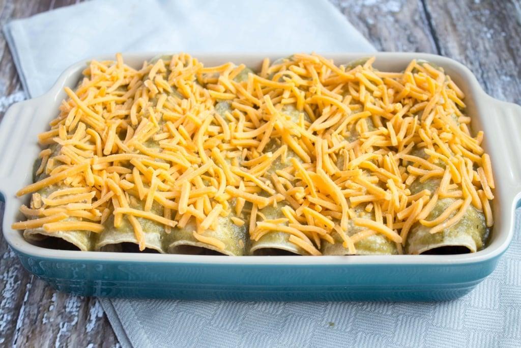 how to make healthy veggie enchiladas
