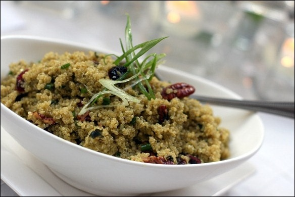 Celebrations Quinoa Salad with Pecans and Cranberries