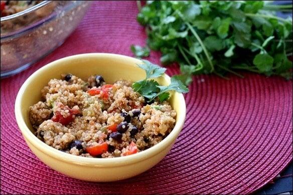Vegan Mexican Quinoa Salad Recipe