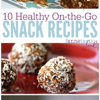 healthy on the go snack recipes