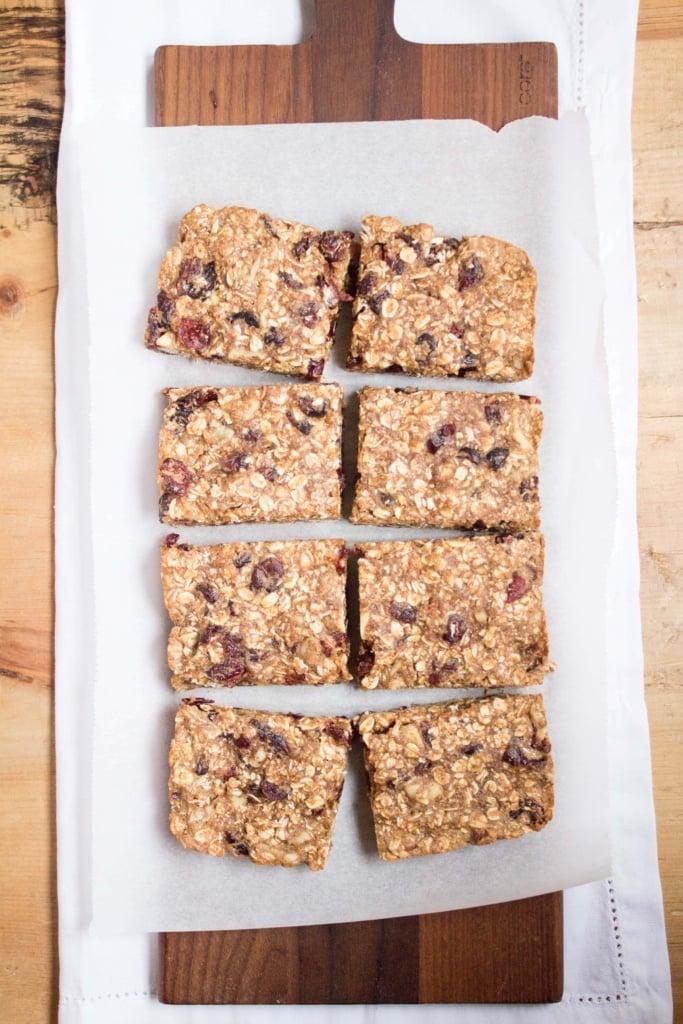vegan gluten free granola bars
