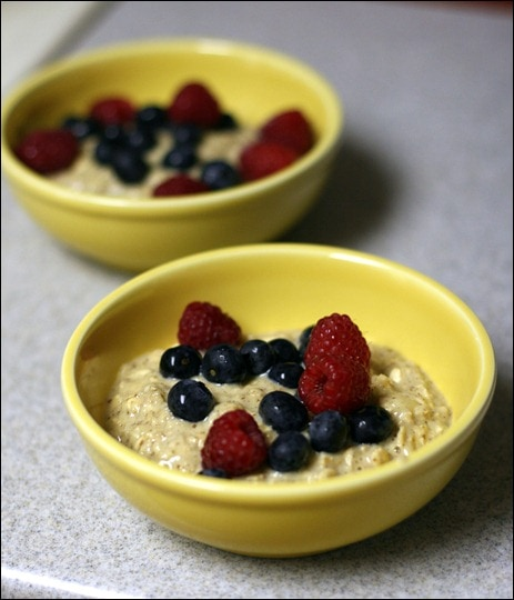 High protein oatmeal