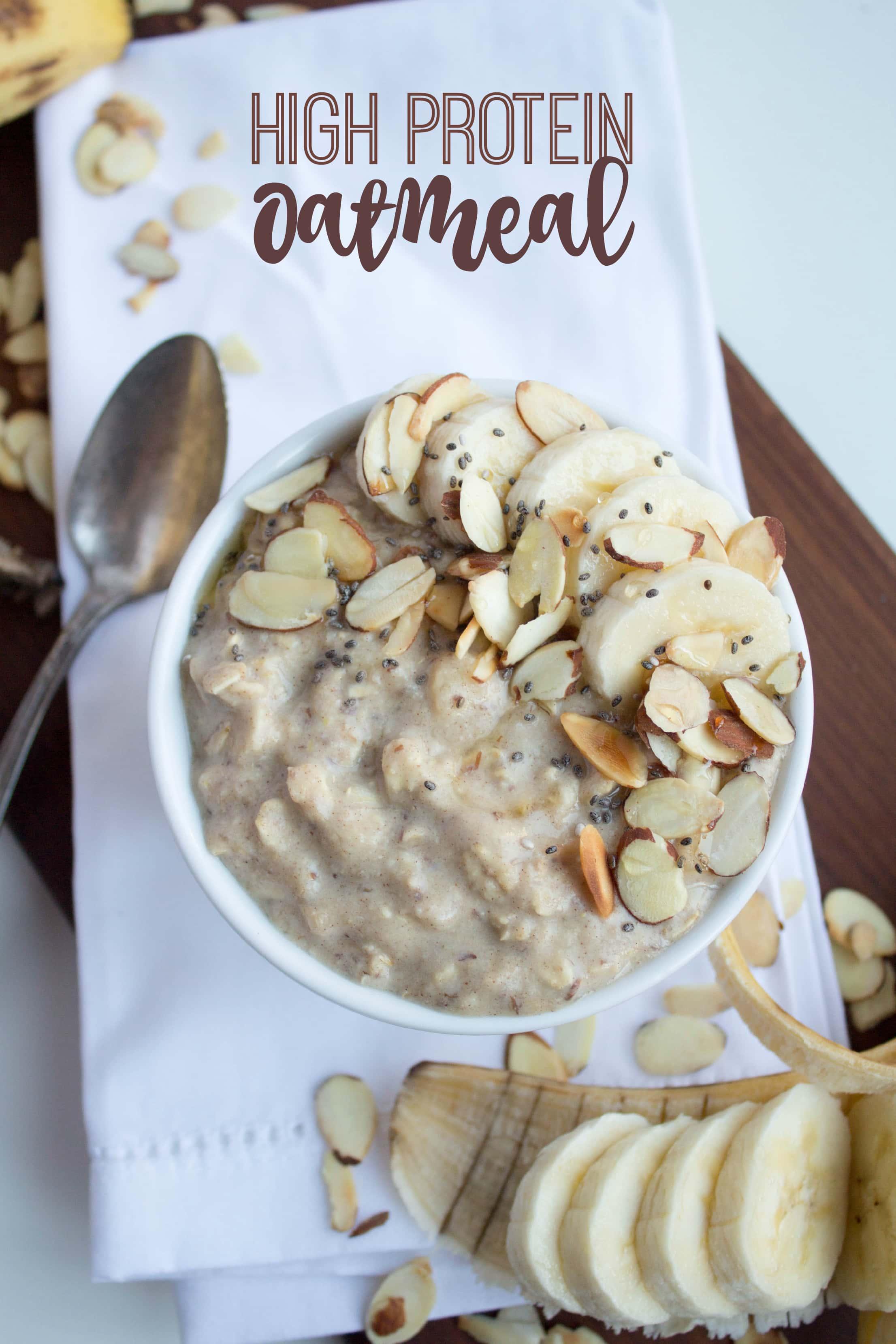 High Protein Oatmeal Recipe