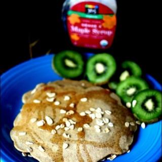 Gluten Free Maple Quinoa Pancakes