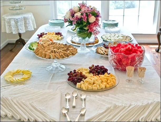 my bridal shower fannetastic food registered dietitian blog recipes healthy living. Black Bedroom Furniture Sets. Home Design Ideas