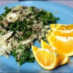 Kale & Chicken Quinoa Salad & Private Practice Plans