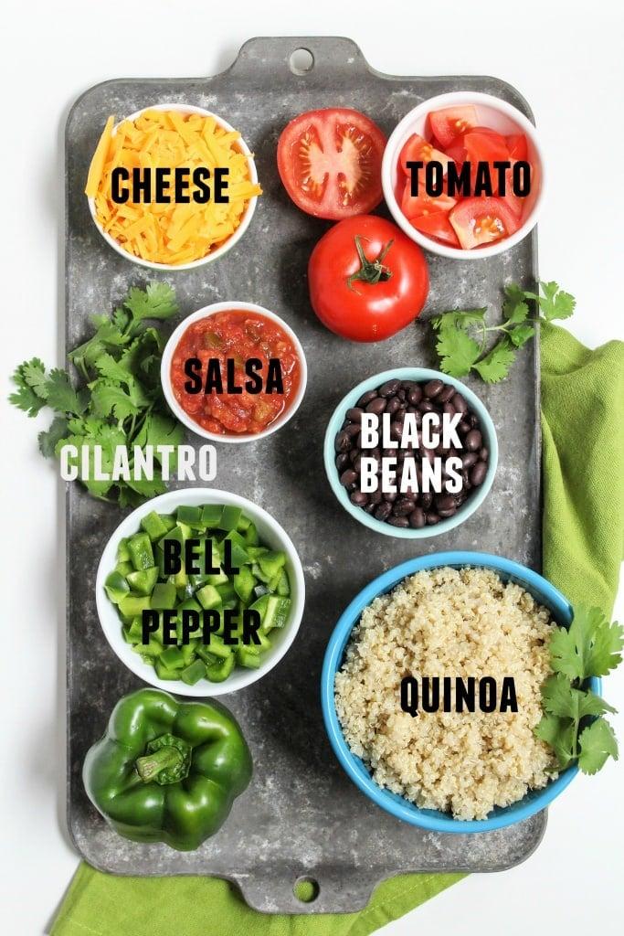 quinoa taco salad ingredients