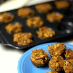 Almond Coconut Pumpkin Muffins