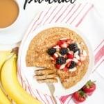 Gluten Free, High Protein Pancake Recipe