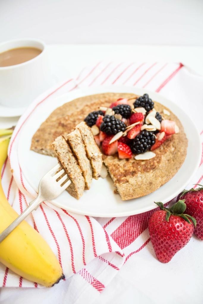 flour free gluten free high protein pancake