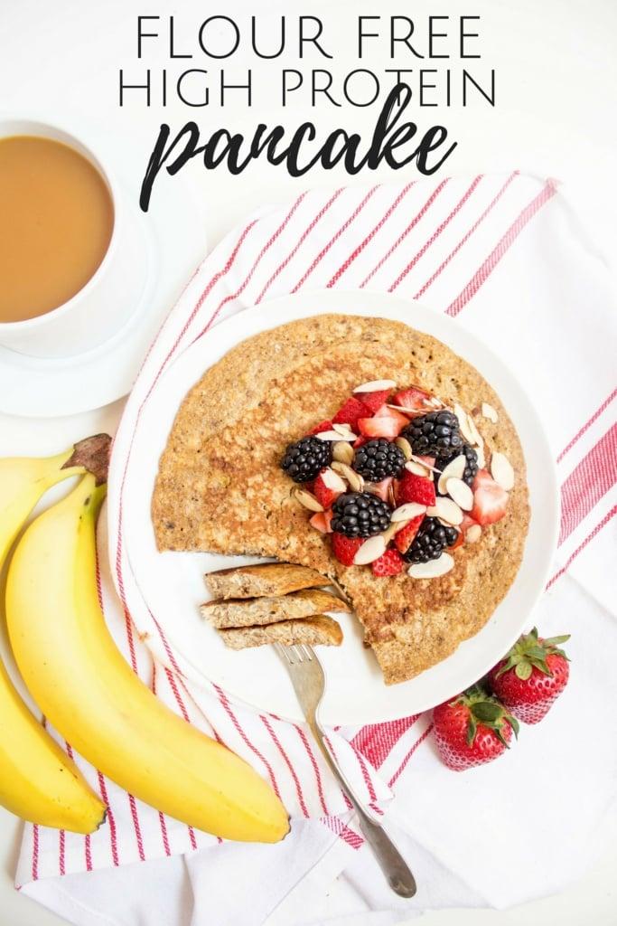 gluten free flour free high protein pancake