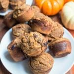 Paleo Almond Coconut Pumpkin Muffins