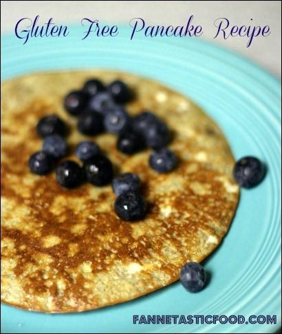 high protein flour free pancake