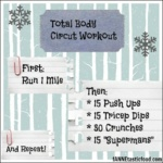 Total Body Circuit Workout