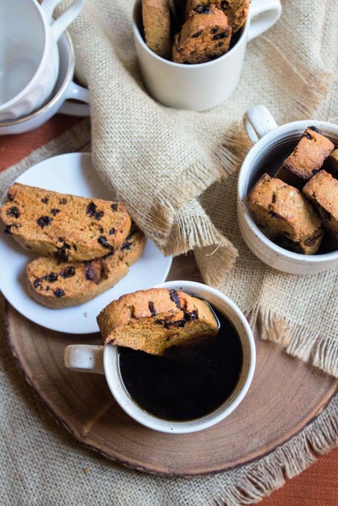 Whole Wheat Pumpkin Goji Biscotti recipe